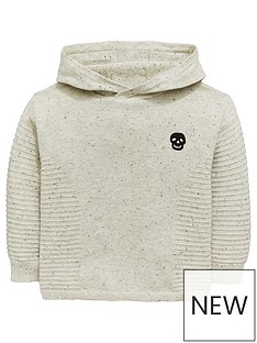 mini-v-by-very-boys-ribbed-hooded-skull-knitted-jumper