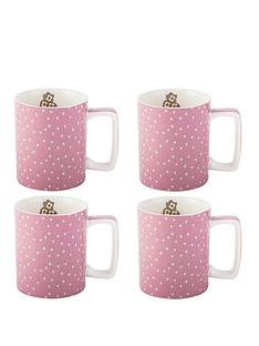 creative-tops-set-of-4-katie-alice-pretty-retro-pink-can-mugs