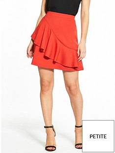 v-by-very-petite-ponte-mini-skirt