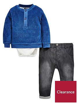mini-v-by-very-baby-boys-velour-sweat-with-jean-set