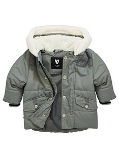 mini-v-by-very-baby-boys-faux-fur-trim-parka