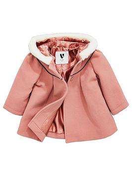 mini-v-by-very-baby-girls-smart-faux-fur-trim-swing-coat