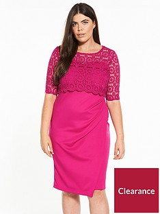 v-by-very-curve-double-layer-lace-dress
