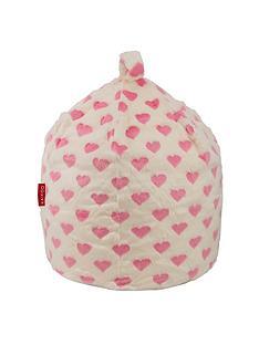 kaikoo-heart-print-faux-fur-beanbag
