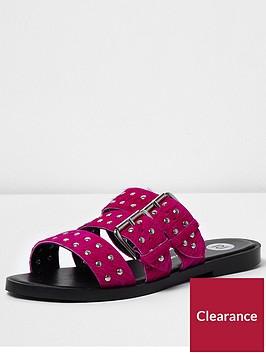 river-island-river-island-pink-pony-three-strap-sandal