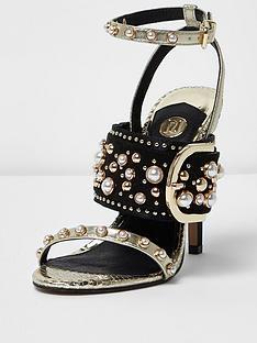 river-island-river-islandnbspgold-embellished-buckle-high-heels