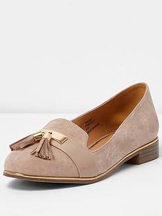 river-island-nude-rat-slipper-shoe