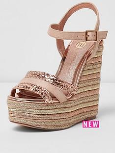 river-island-pogan-wedge-sandal