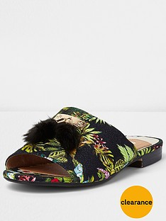 river-island-river-island-rainforest-backless-loafer-with-pom