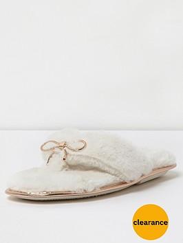 river-island-cream-flip-flop-slipper