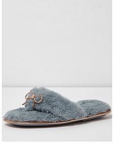 river-island-bow-flip-flop-slipper