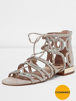 river-island-river-island-rapunzel-embellished-tie-up-sandal