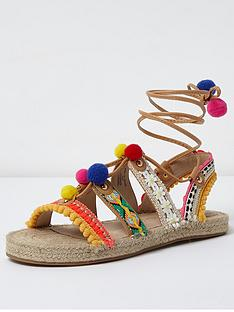river-island-pom-pom-multi-esp-sandal