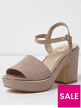 river-island-river-island-pom-thru-wide-fit-platform-sandal