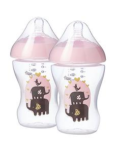 tommee-tippee-2x260ml-ultra-dec-bottles-girl