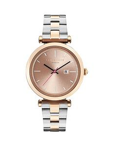 ted-baker-sunray-dial-stainless-steel-two-tone-bracelet-ladies-watch