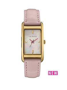 ted-baker-mother-of-pearl-dial-pink-leather-strap-ladies-watch