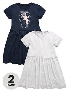 v-by-very-v-by-very-girls-jersey-dresses-2-pack