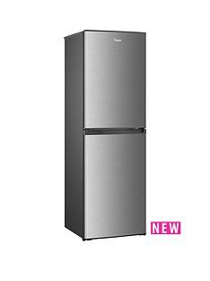Swan SR8130S55cmFrost Free Fridge Freezer - Stainless Steel-Effect