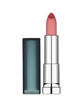 maybelline maybelline color sensational creamy matte lipstick, purely nude, women