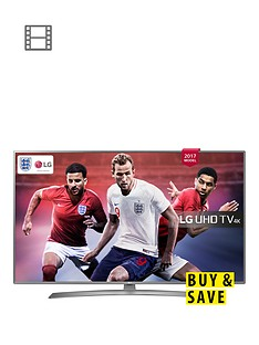 LG 49UJ670V 49 inch, 4K Ultra HD HDR, FreeviewPlay, Smart, LED TV