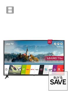 LG 65UJ630V 65 inch, 4K Ultra HD HDR, FreeviewPlay, Smart LED TV