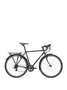 Adventure Flat White Unisex Touring Bike 54cm Frame