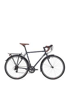 Adventure Flat White Unisex Touring Bike 60cm Frame