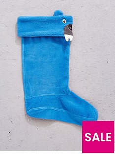 joules-boys-bear-welly-sock