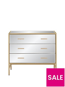 ideal-home-gold-ready-assembled-mirror-and-metal-3-drawer-chest