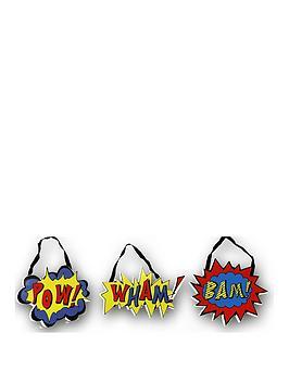 arthouse-superhero-hanging-plaques-set-of-3