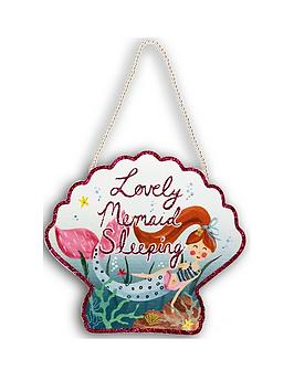 arthouse-mermaid-world-wooden-hanging-sign