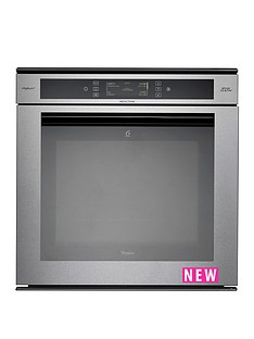 whirlpool-fusionnbspakzm8920gk-built-in-electric-single-induction-oven-with-optional-installation-stainless-steel