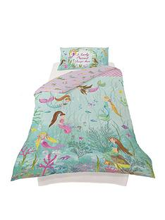 arthouse-mermaid-world-single-duvet-cover-set