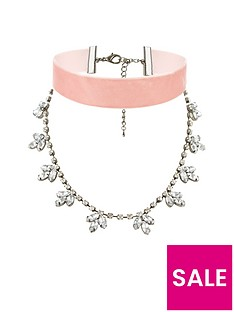 v-by-very-velvet-and-jewel-drop-double-layer-choker