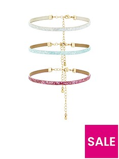 v-by-very-3-pack-thin-glitter-choker-set