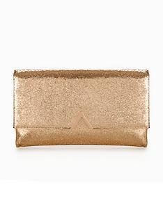 v-by-very-metal-v-bar-tinsel-clutch-bag