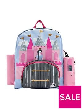 joules-princess-castle-backpack