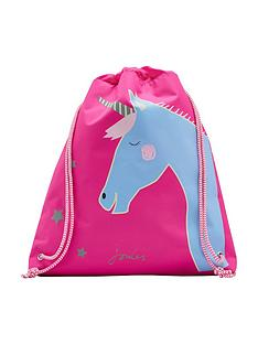 joules-active-drawstring-unicorn-bag