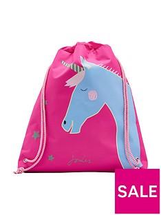 joules-active-drawstring-unicorn-bag