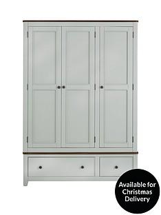 luxe-collection-newport-painted-3-door-2-drawer-wardrobe