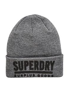 superdry-surplus-goods-logo-beanie