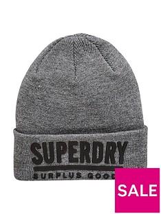 superdry-surplus-goods-logo-beanie