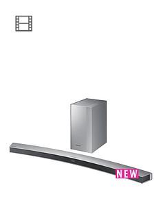 samsung-hw-m4501xu-soundbar-21ch-340w-wireless-subwoofer-curved-silver-metal-grille-design
