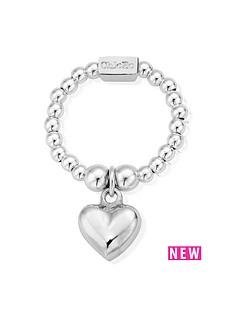 chlobo-chlobo-sterling-silver-mini-puffed-heart-ring
