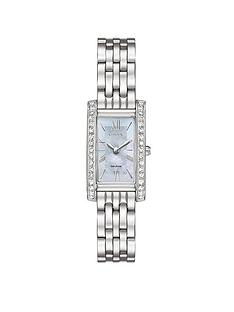 citizen-citizen-eco-drive-mother-of-pearl-dial-swarovskireg-crystal-set-bracelet-ladies-watch