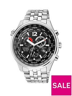 citizen-citizen-eco-drive-black-chronograph-dial-stainless-steel-bracelet-mens-watch