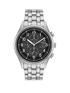 citizen-eco-drive-black-chronograph-dial-stainless-steel-bracelet-mens-watch