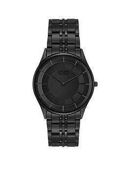 citizen-eco-drive-stiletto-black-dial-black-ultra-slim-stainless-steel-bracelet-mens-watch