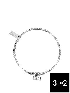 chlobo-chlobo-sterling-silver-mini-noodle-cube-two-heart-charm-bracelet